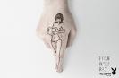 Playboy hands